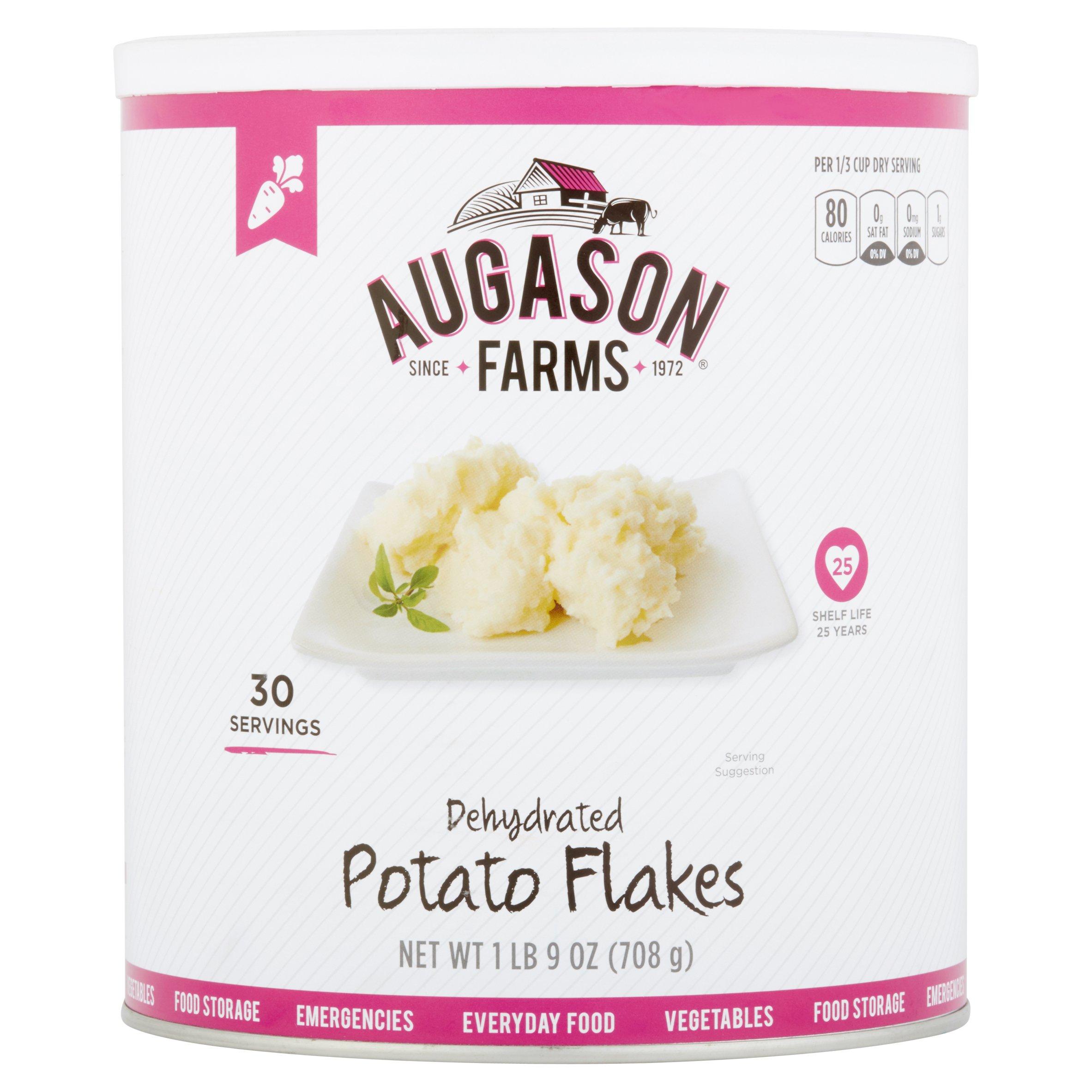Augason Farms Dehydrated Potato Flakes, 27 oz by Augason Farms