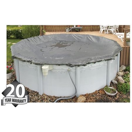 Bluewave Wc9805 Above Ground 20 Year Winter Cover For 24 39 Round Pool