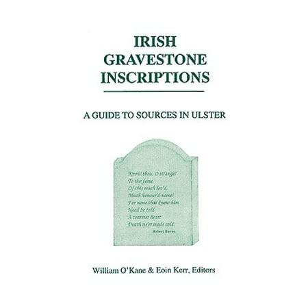 Irish Gravestone Inscriptions](Halloween Gravestone Inscriptions)