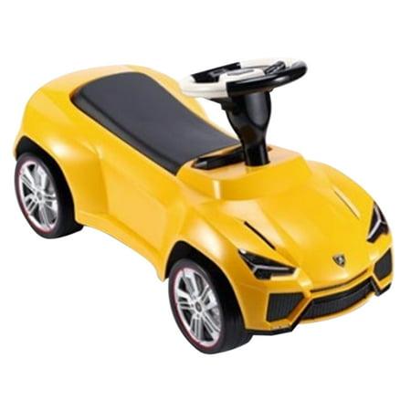 Lamborghini Urus Licensed Ride On Push Car   Yellow