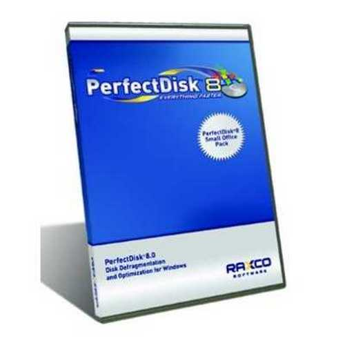 Perfectdisk 8 Small Office Pack Incl 1 SERVER/5 Client Lic By Raxco