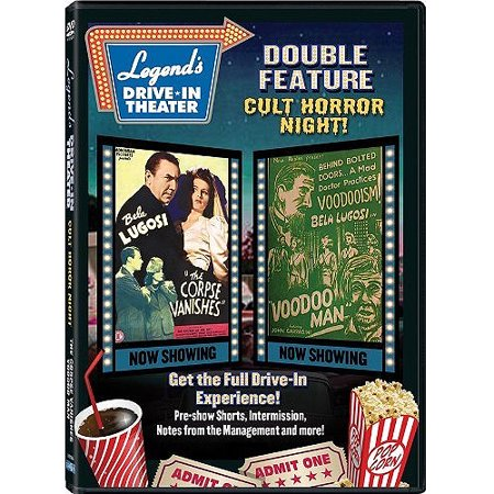 Legend's Drive-In Theater Double Feature: Cult Horror Night! - The Corpse Vanishes / Voodoo Man](Halloween Horror Nights Voodoo)