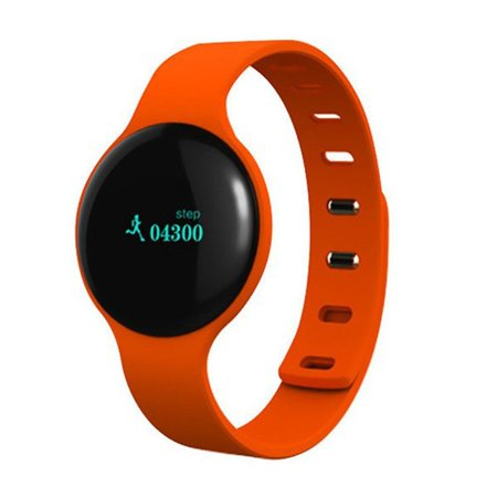 Bluetooth Smart Sport Wristband with Pedometer Health Fitness Tracker This Bluetooth Smart Sport Wristband with Pedometer Health Fitness Tracker will track how much steps you make.It is GREAT for: Walking, Jogging, and while doing a workout on an excersize machine.