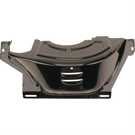 GM 700R4 Flywheel/Flexplate Dust Cover, Black