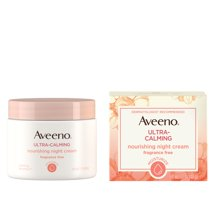 Facial Moisturizer: Aveeno Ultra-Calming Nourishing Night Cream