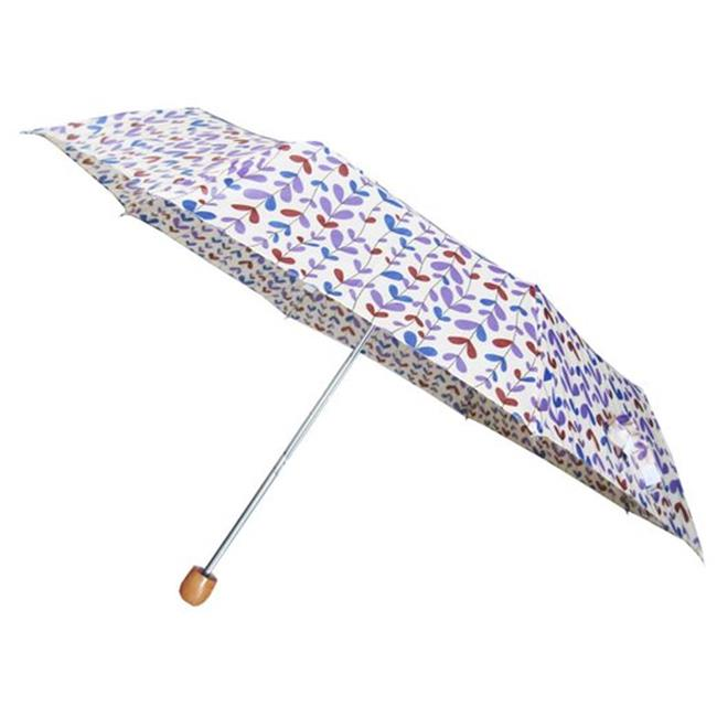 Conch Umbrellas 3959Leaf 42 inch 3 Fold Compact Umbrella