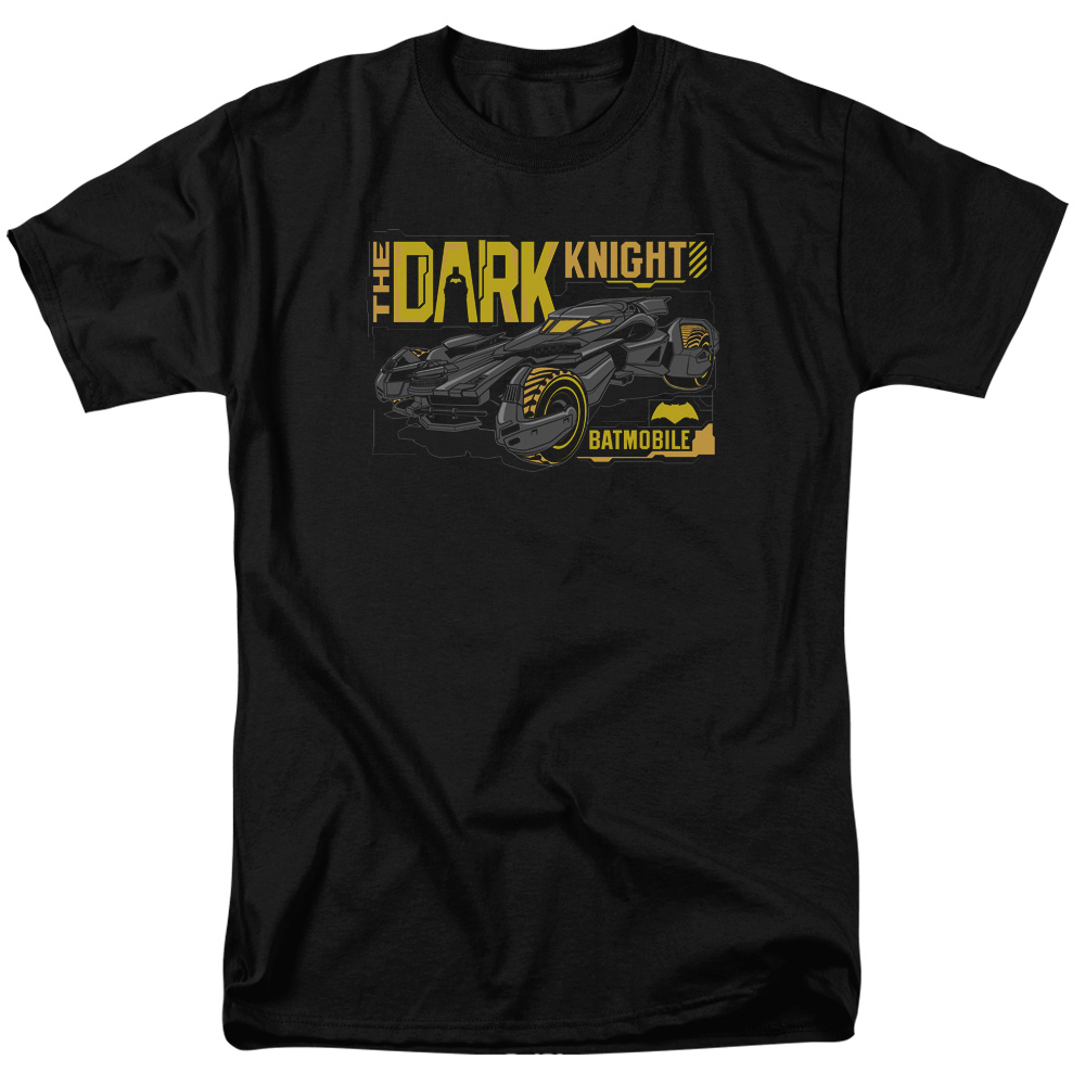BATMAN V SUPERMAN/MOBILE DARK KNIGHT-S/S ADULT 18/1-BLACK-3X