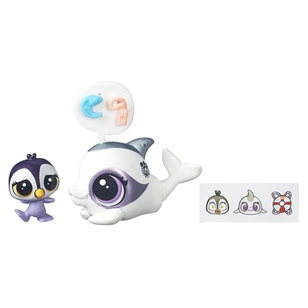 Dauphine Delphin & Ocean TuxleyAdd to any pet collection By Littlest Pet Shop