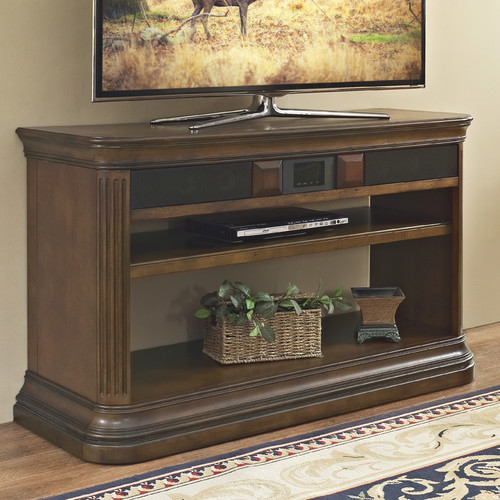 Turnkey Products LLC Lexington 48'' TV Stand with Built-In Surround Sound