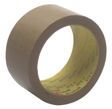 Carton Tape,Polypropylene,Tan,48mm x 50m SCOTCH 371