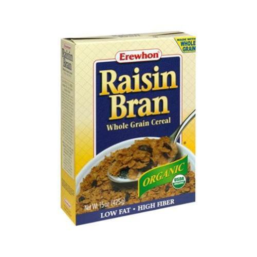Erewhon 52252 Organic Raisin Bran Cereal