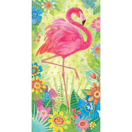 Series Custom Panel - Custom Decor Art Panel - Flamingo Floral