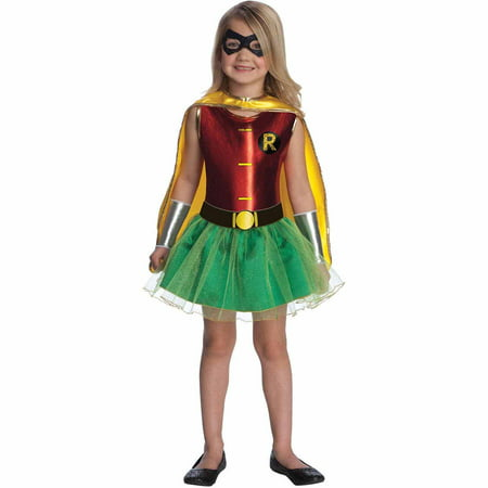Robin Tutu Toddler Halloween Costume, Size 3T-4T (Toddler Tutu Costume)