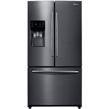Samsung RF263BEAESG 24.6 Cu. Ft. Black Stainless French Door Refrigerator