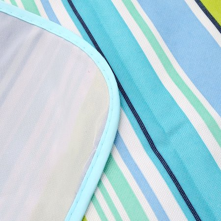 Camping en plein air rayures résistant à l'humidité Plage pique-nique Mat 180 x 145cm - image 3 de 6