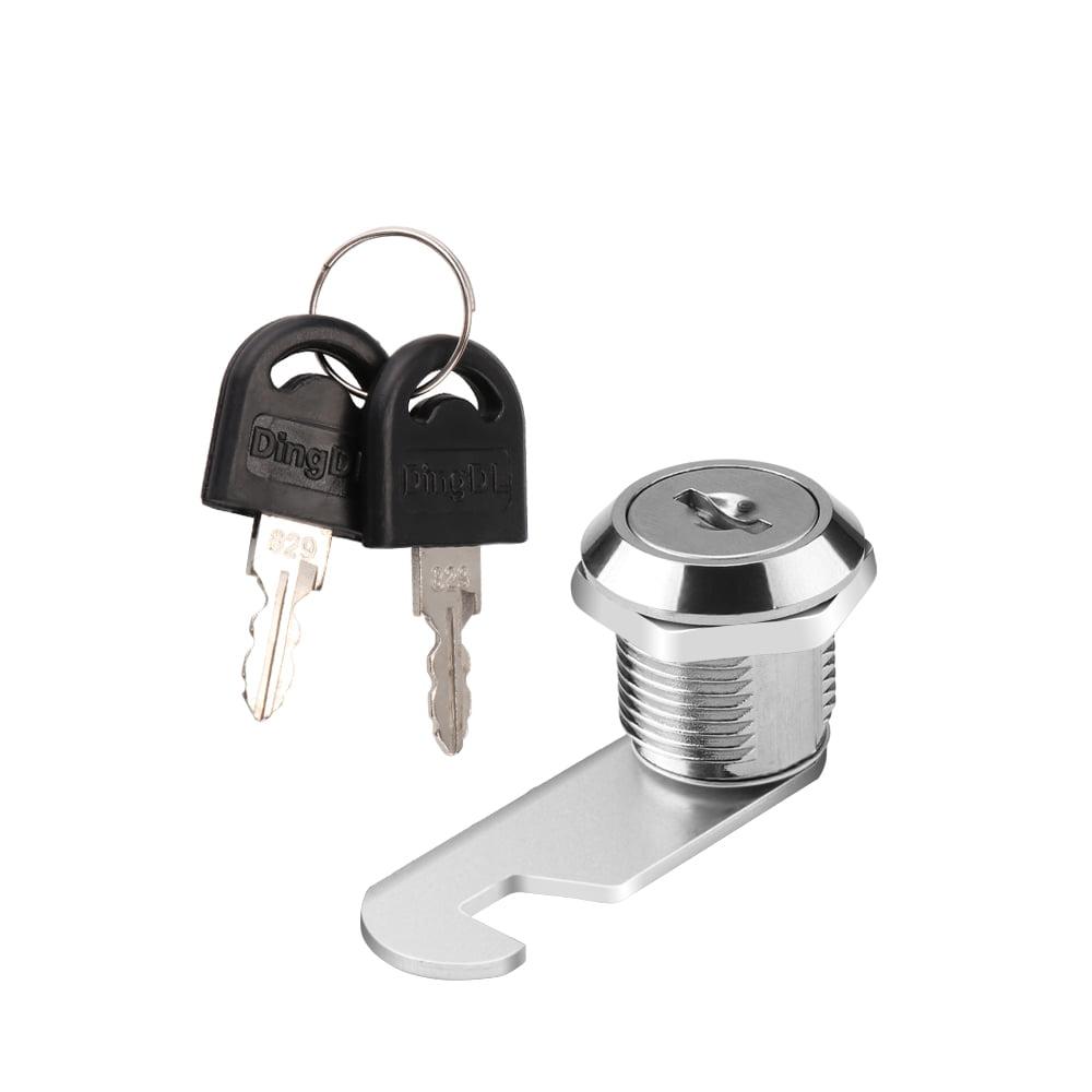 Drawer Lock Cabinet Tools Mail Box File Cabinet Desk Drawer Lock With 2 Keys HO