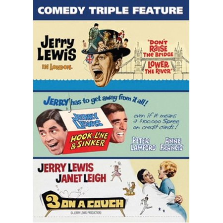 Jerry Lewis Comedy Triple Feature (DVD)