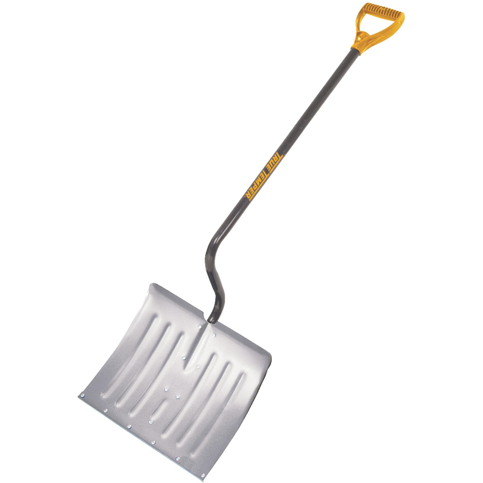 AMES True Temper 18 In. Aluminum Snow Shovel