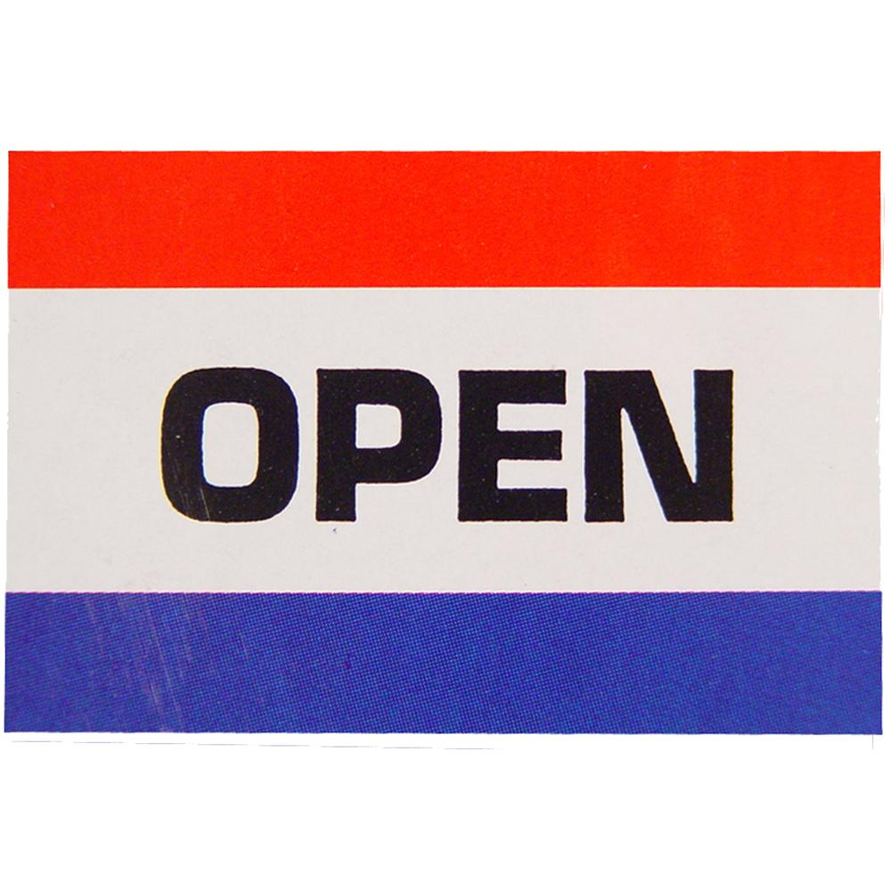 Open Flag with Grommets 3ft x 5ft