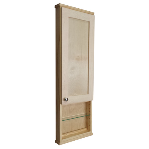 WG Wood Products Shaker Series 15.25'' x 43.5'' Wall Mounted Cabinet