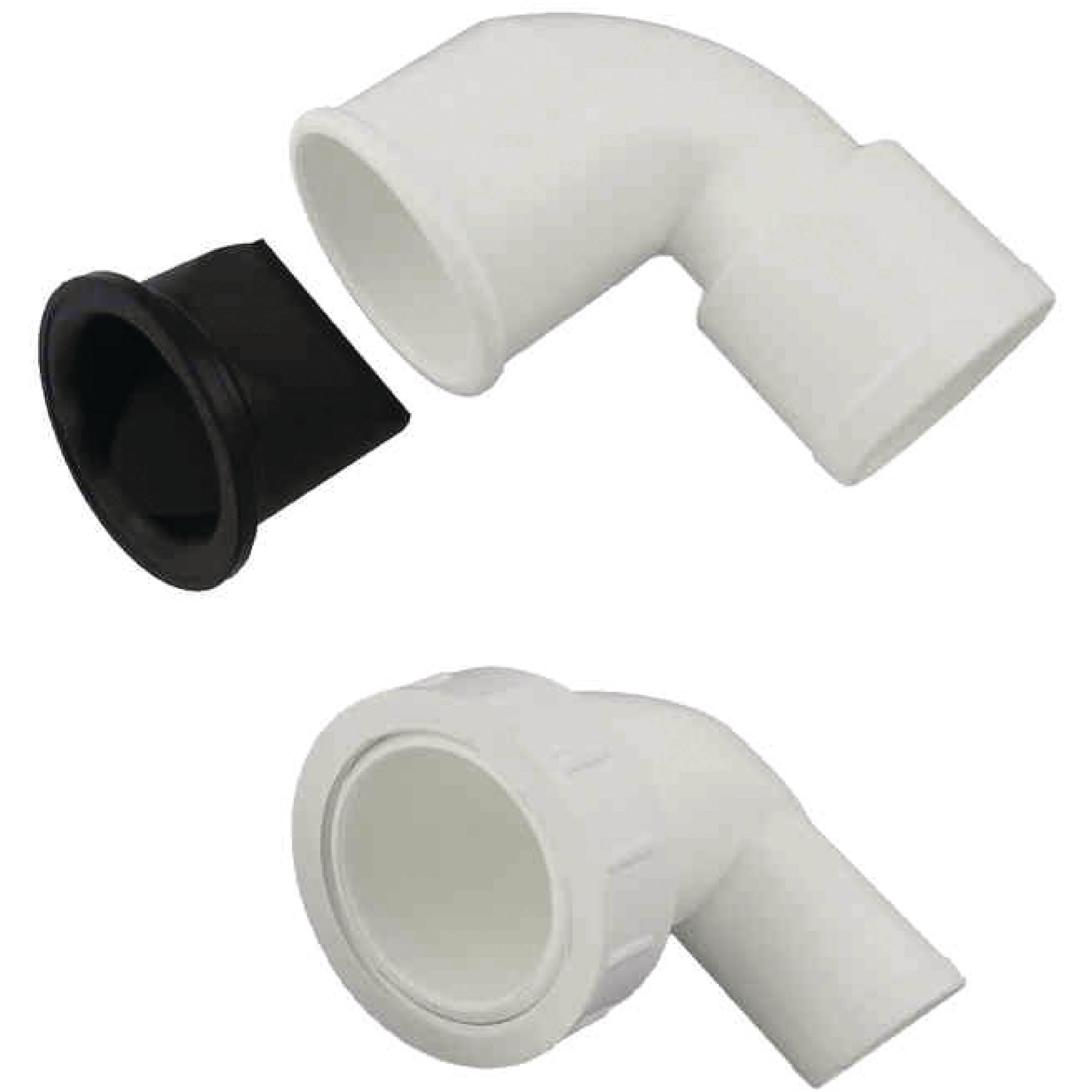 Johnson Pump 81-47273 Outlet Elbow For Silent and Premium Toilets by Johnson Pump
