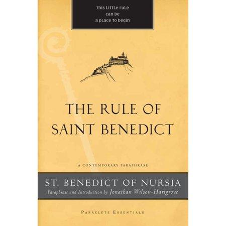 The Rule of Saint Benedict - eBook (Rule Of Saint Benedict)