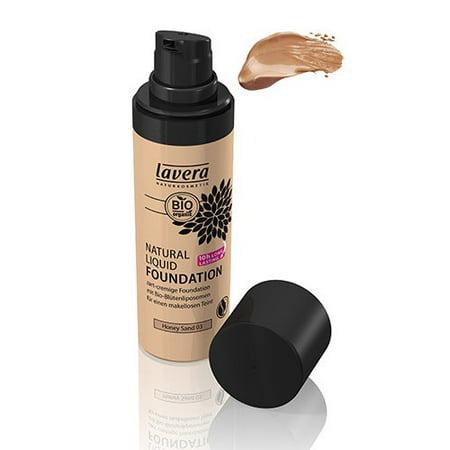Trend Sensitive Natural Liquid Foundation-Honey Sand #3 Lavera Skin Care 1 oz Liquid