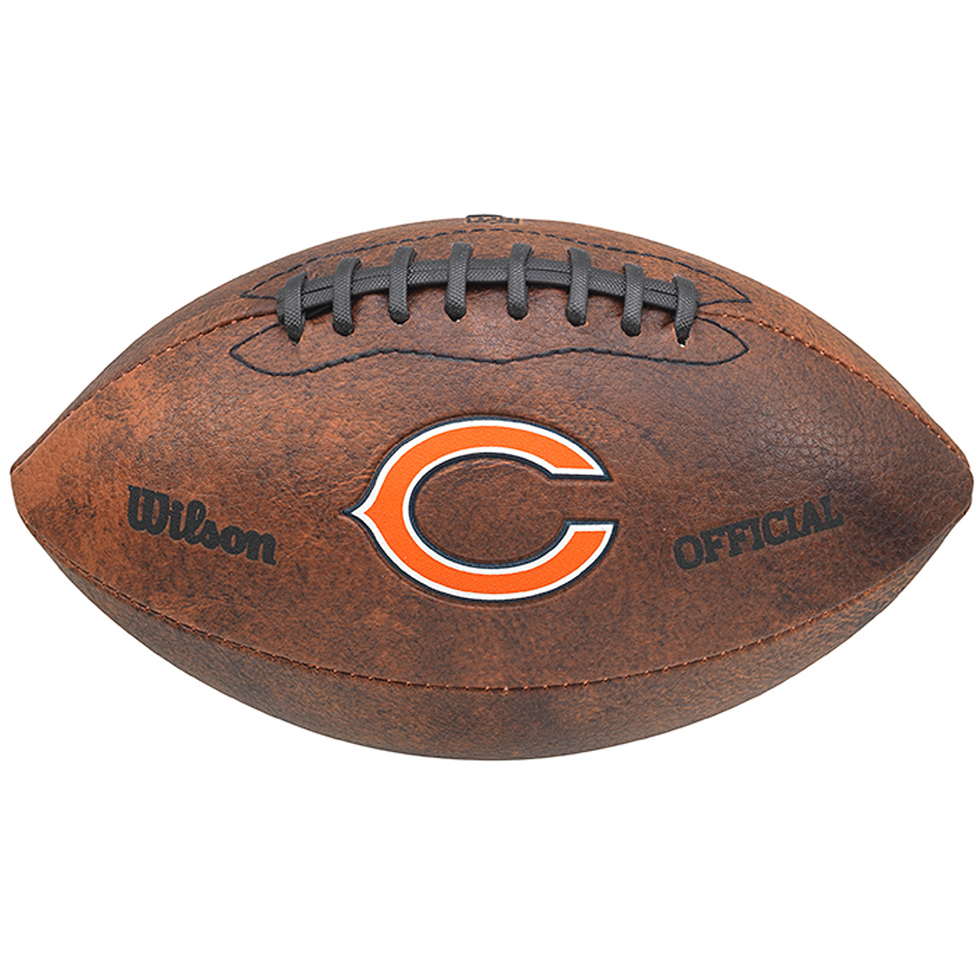 """Wilson NFL 9"""" Color Throwback Football, Chicago Bears by Gulf Coast Sales"""