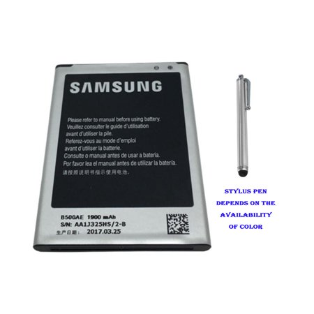 Original Samsung Battery B500AE (NON-NFC) 1900mAh For Samsung Galaxy S4 Mini i9192 i9190 - 100% OEM Brand NEW in Non-Retail
