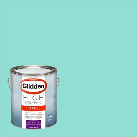 Glidden High Endurance, Interior Paint and Primer, Bali Hai Teal, # 56GG - Teal Paint