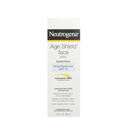 Neutrogena Age Shield Face Lotion Sunscreen Broad Spectrum SPF 70 - 3 (Best Sunscreen For Your Face)