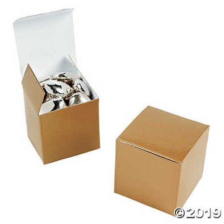 Mini Gold Gift Boxes](Gold Gift Box)