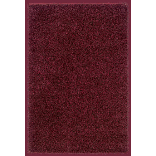 Rizzy Home Burgundy/Merlot  Rug In Polyester 3'x3' Round
