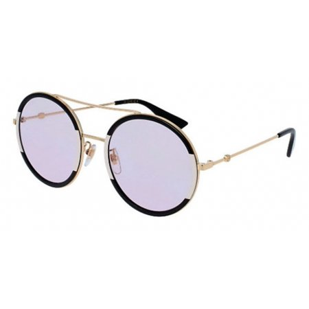 9724a9bb3f Gucci Pink Round Ladies Sunglasses GG0061S 006 56 - image 1 of 1 ...