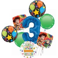 Toy Story 3rd Birthday Party Supplies Balloon Bouquet Decorations