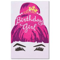Product Image American Greetings Birthday Girl Card For Her With Glitter