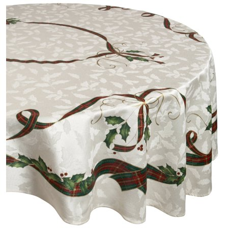 Lenox Holiday Gems - Lenox Holiday Gathering Plaid Tablecloth,