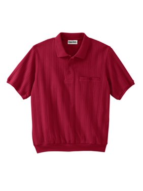 cc40fcd21d8 Product Image Kingsize Men s Big   Tall Banded Bottom Textured Polo Shirt