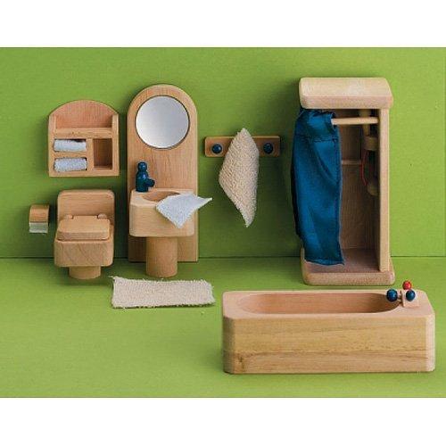 Small World Toys Bathtime & Bubbles Bathroom Set