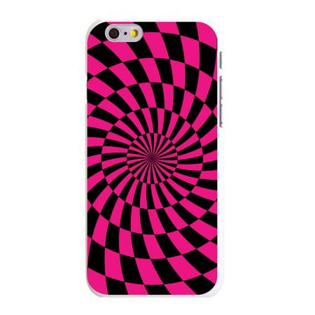 CUSTOM White Hard Plastic Snap-On Case for Apple iPhone 6 / 6S (4.7