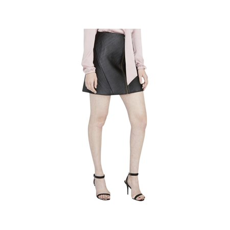 Rachel Rachel Roy Womens A-Line Zip Front Mini Skirt A-line Back Zip Skirt