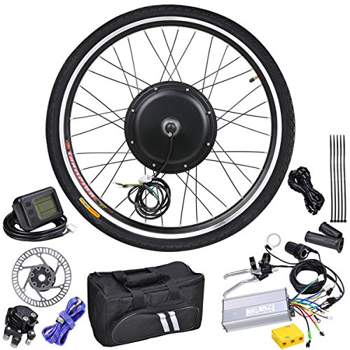 MegaBrand 48v 1KW 26in Front Wheel LCD Electric Bicycle Motor Kit