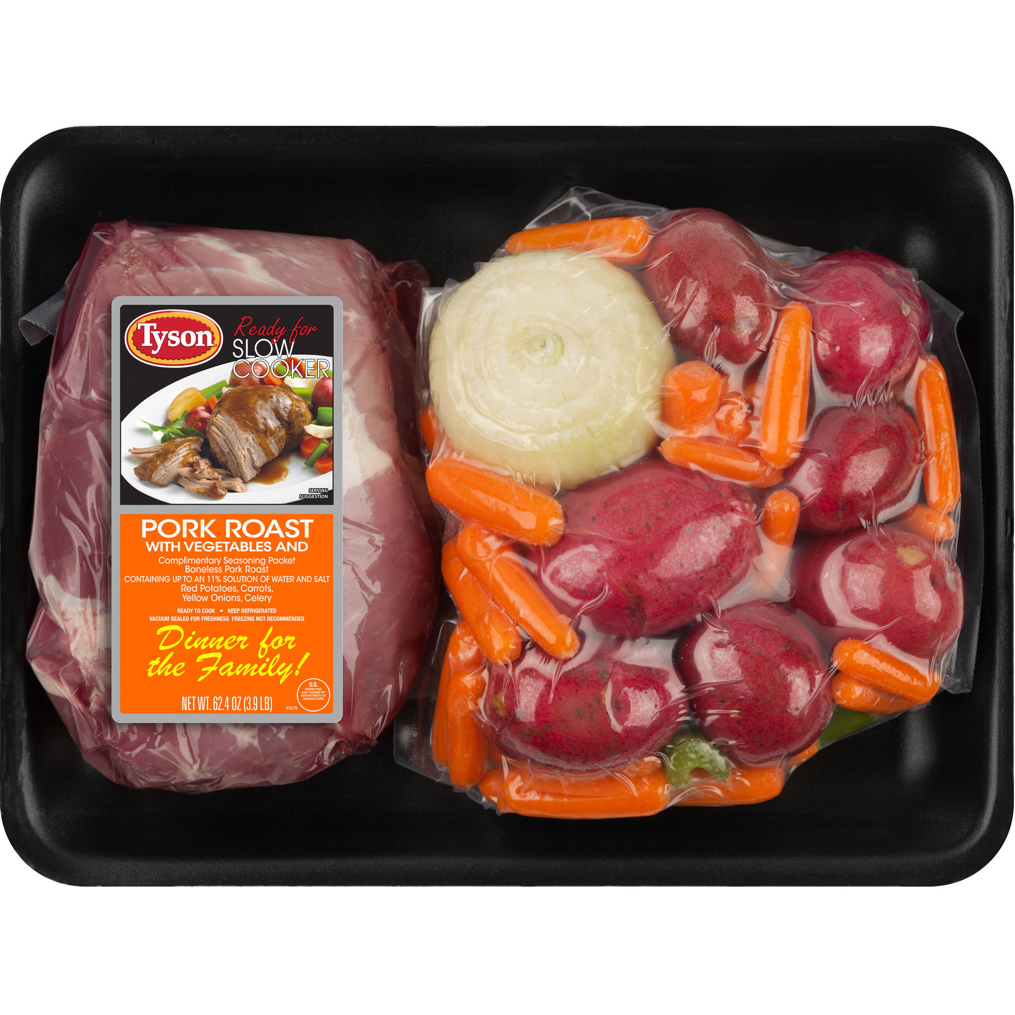 Tyson Pork Roast with Vegetables, 62 oz
