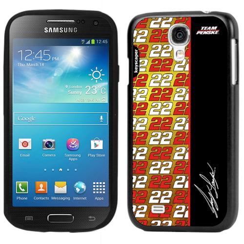 Joey Logano Galaxy S4 Slim Case NASCAR