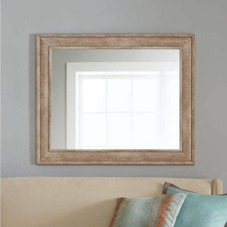 Better Homes And Gardens 33 X 40 Sandpiper Rustic Mirror