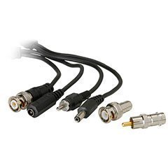Camera Connection Cable (CCTV Camera Connection Cable BNC to RCA Power M/F 50)