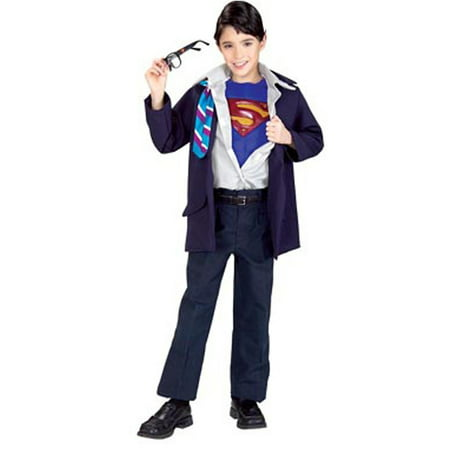 Child Superman Returns Clark Kent Rip-Away Rubies 882305