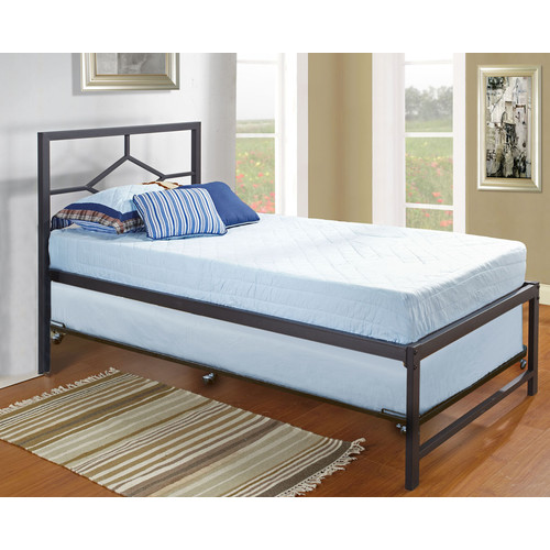 Inroom Designs Hi Riser Twin Platform Bed With Pop Up