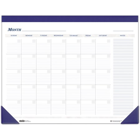 House of Doolittle Nondated Calendar Desk Pad ()