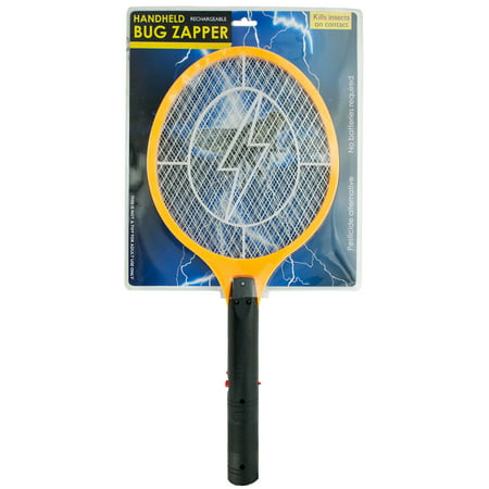Bug Zapper Electric Rechargeable Bug Zapper Fly Killer Swatter Racket Zap Mosquito Best for indoor and Outdoor Pest Control LED dark safety mesh - Giant Fly Swatter
